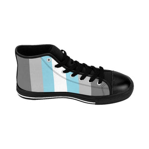 Mens High-Top Sneakers - Demiboy Shoes