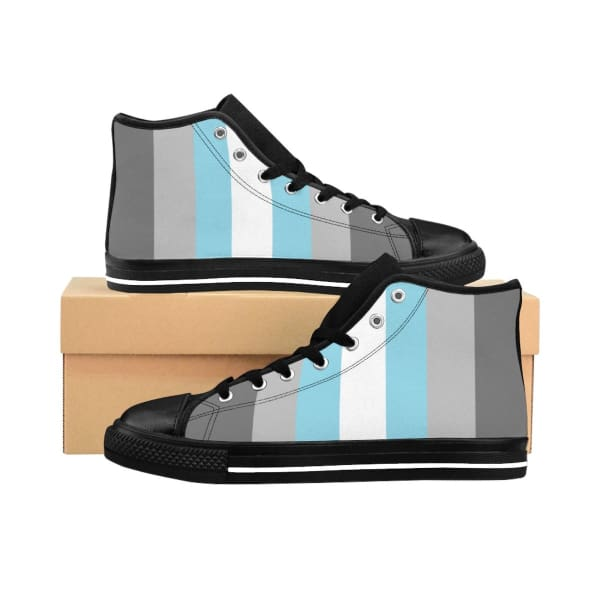 Mens High-Top Sneakers - Demiboy Us 10 Shoes