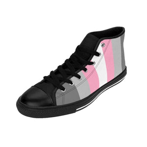 Mens High-Top Sneakers - Demigirl Shoes