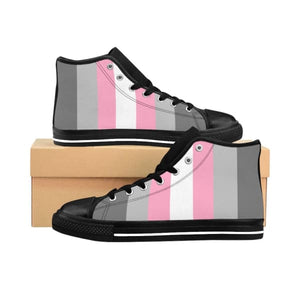 Mens High-Top Sneakers - Demigirl Us 9 Shoes