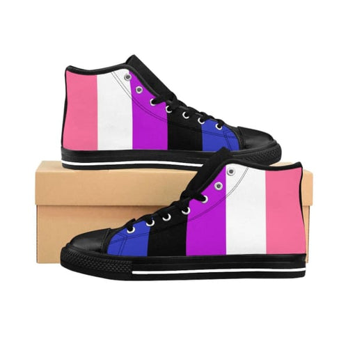 Mens High-Top Sneakers - Genderfluid Us 10 Shoes