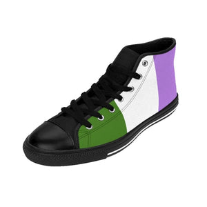 Mens High-Top Sneakers - Genderqueer Shoes