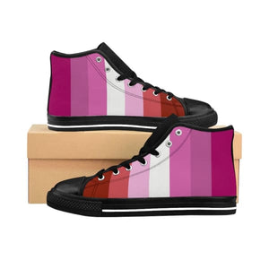 Mens High-Top Sneakers - Lesbian Us 10 Shoes