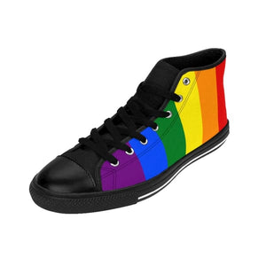 Mens High-Top Sneakers - Lgbt Shoes