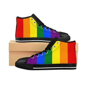 Mens High-Top Sneakers - Lgbt Us 10 Shoes