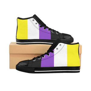 Mens High-Top Sneakers - Non Binary Us 9 Shoes