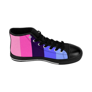 Mens High-Top Sneakers - Omnisexual Shoes