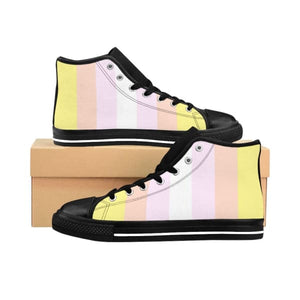 Mens High-Top Sneakers - Pangender Us 9 Shoes