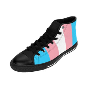 Mens High-Top Sneakers - Transgender Shoes