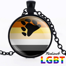 Necklace - 18 Flags Black / Bear Pride