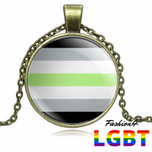 Necklace - 18 Flags Bronze / Agender