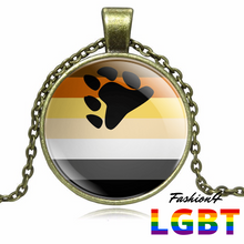 Necklace - 18 Flags Bronze / Bear Pride