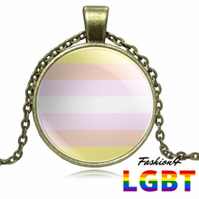 Necklace - 18 Flags Bronze / Pangender