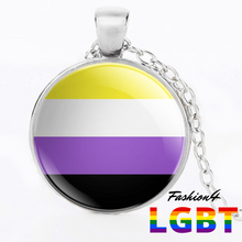 Necklace - 18 Flags Silver / Non-Binary