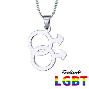 Necklace - Gay Love