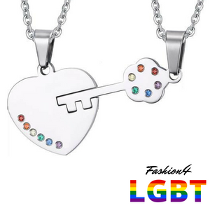 Necklaces For Couples - The Key To My Heart