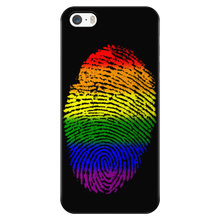 Phonecase - Rainbow Touch Black Iphone 5/5S Phone Cases