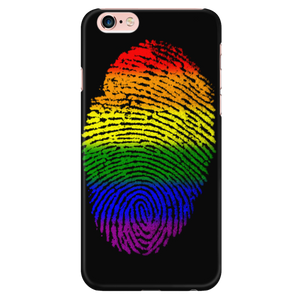 Phonecase - Rainbow Touch Black Iphone 6 Plus/6S Plus Phone Cases