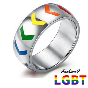 Pride Ring - Arrows