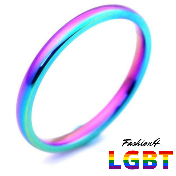 Rainbow Ring - Elegant