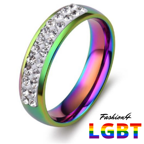 Rainbow Ring - Exquisite