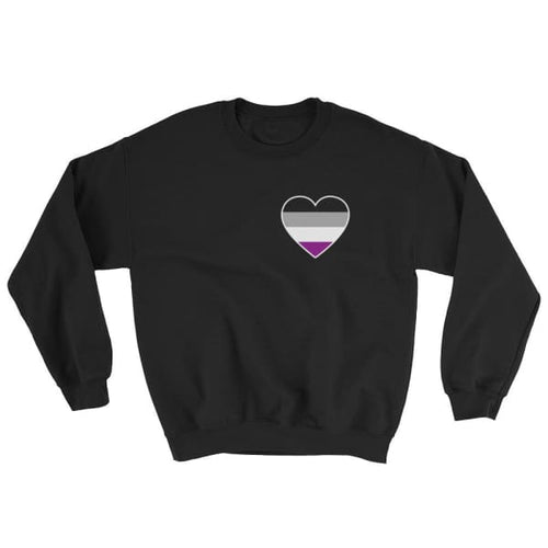 Sweatshirt - Ace Heart Black / S