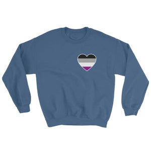 Sweatshirt - Ace Heart Indigo Blue / S