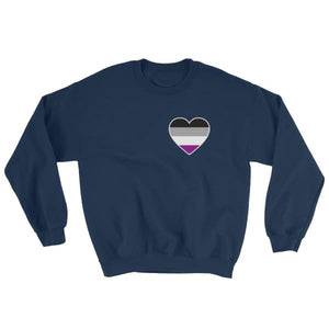 Sweatshirt - Ace Heart Navy / S