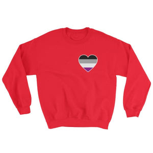 Sweatshirt - Ace Heart Red / S