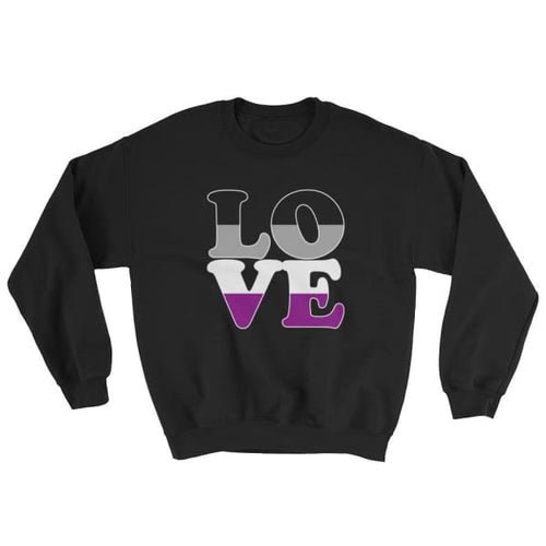 Sweatshirt - Ace Love Black / S