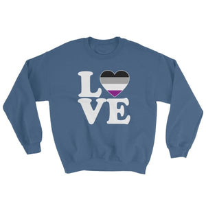 Sweatshirt - Ace Love & Heart Indigo Blue / S