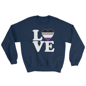 Sweatshirt - Ace Love & Heart Navy / S