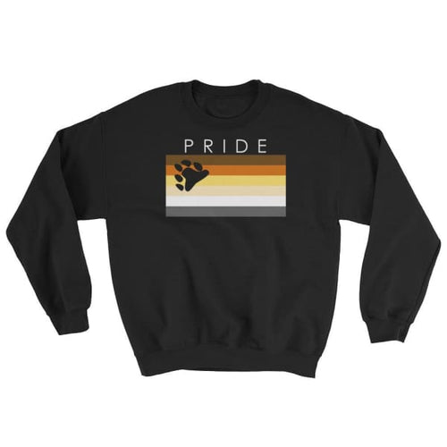 Sweatshirt - Bear Pride Pride Black / S