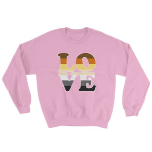 Sweatshirt - Bear Pride Love Light Pink / S