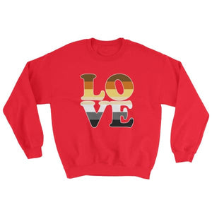 Sweatshirt - Bear Pride Love Red / S