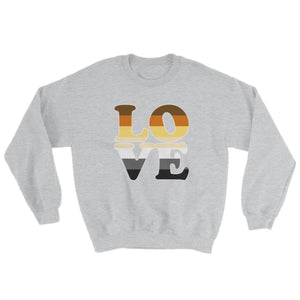 Sweatshirt - Bear Pride Love Sport Grey / S