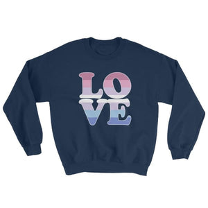 Sweatshirt - Bigender Love Navy / S