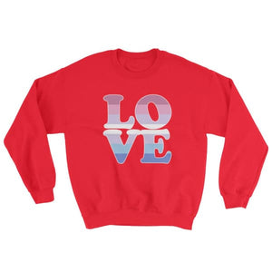 Sweatshirt - Bigender Love Red / S