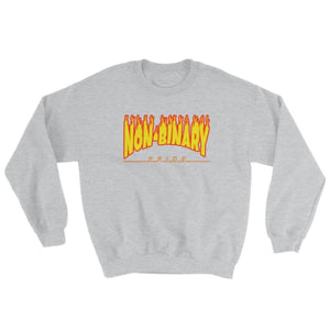 Sweatshirt - Non-Binary Flames Sport Grey / S