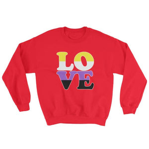 Sweatshirt - Non Binary Love Red / S