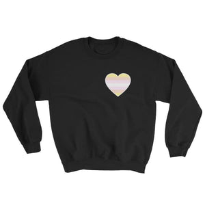 Sweatshirt - Pangender Heart Black / S