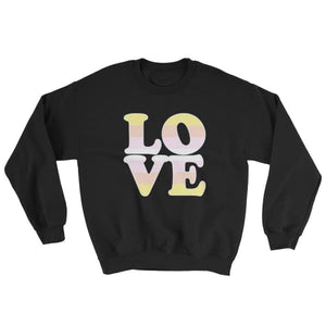 Sweatshirt - Pangender Love Black / S