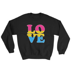 Sweatshirt - Pansexual Love Black / S