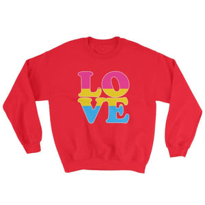 Sweatshirt - Pansexual Love Red / S