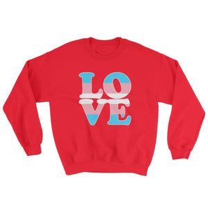 Sweatshirt - Transgender Love Red / S