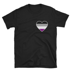 T-Shirt - Ace Heart Black / S