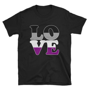 T-Shirt - Ace Love Black / S