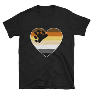 T-Shirt - Bear Pride Big Heart Black / S