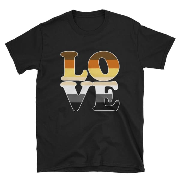 T-Shirt - Bear Pride Love Black / S