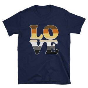 T-Shirt - Bear Pride Love Navy / S